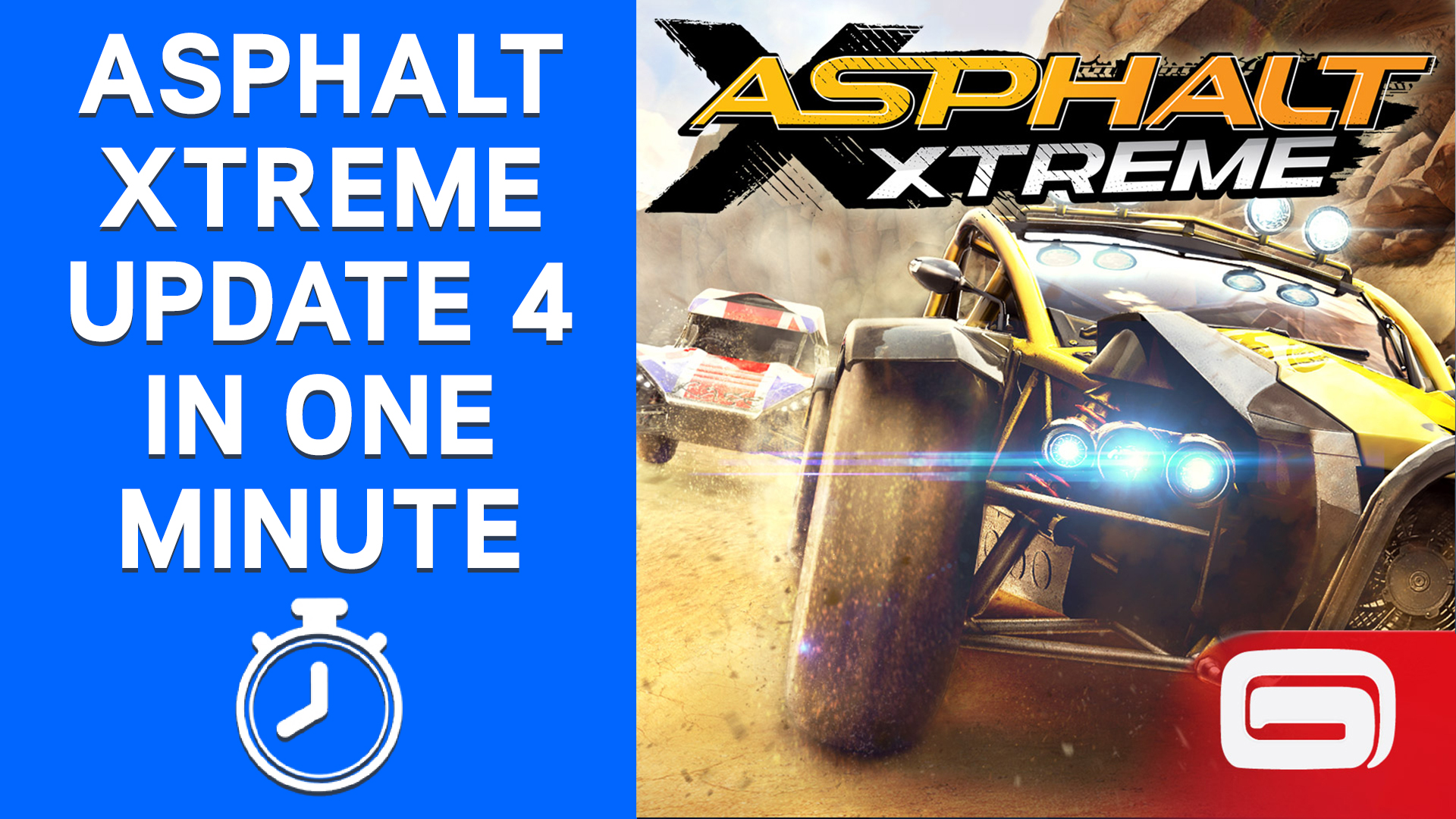 Asphalt Xtreme Update 4 in One Minute
