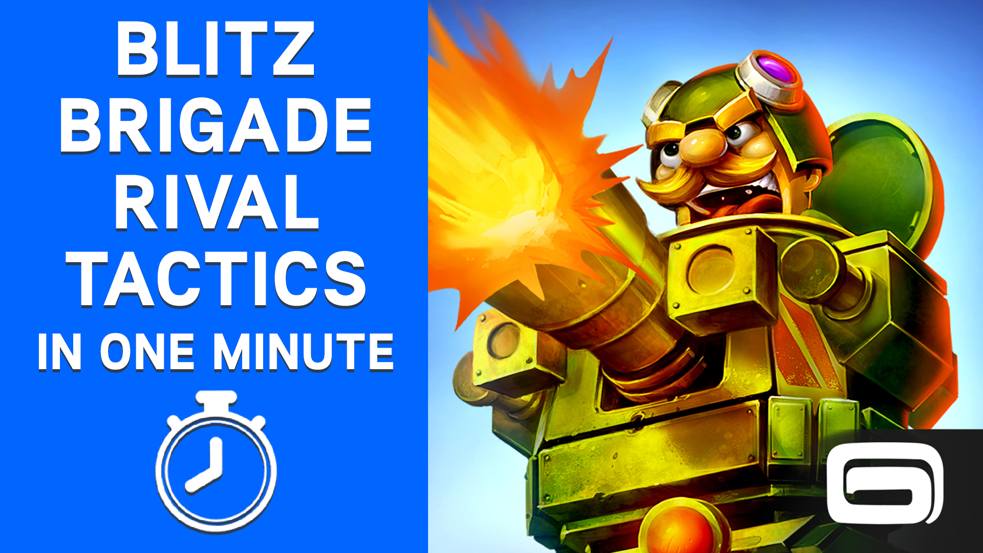 Blitz Brigade Rival Tactics in One Minute