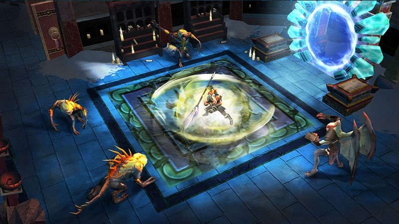 Begin a new adventure in Dungeon Hunter: Curse of Heaven