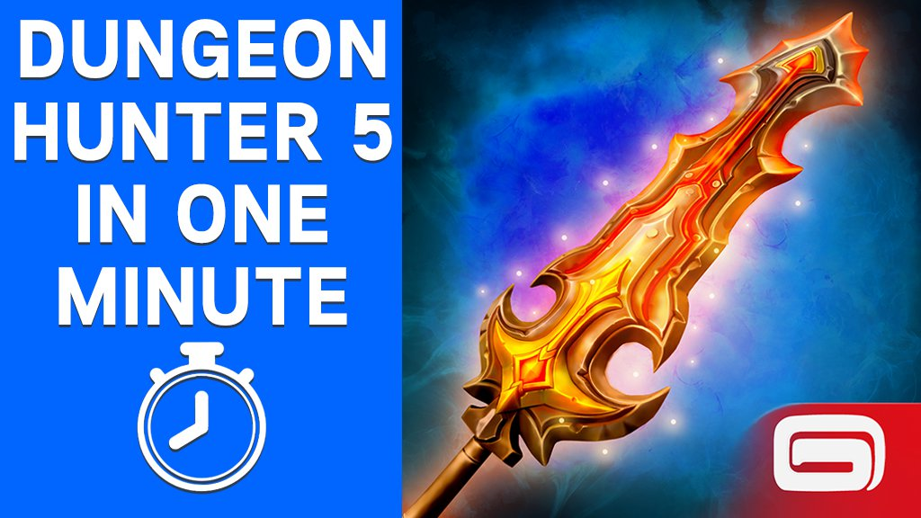 Everything about Dungeon Hunter 5 in one minute