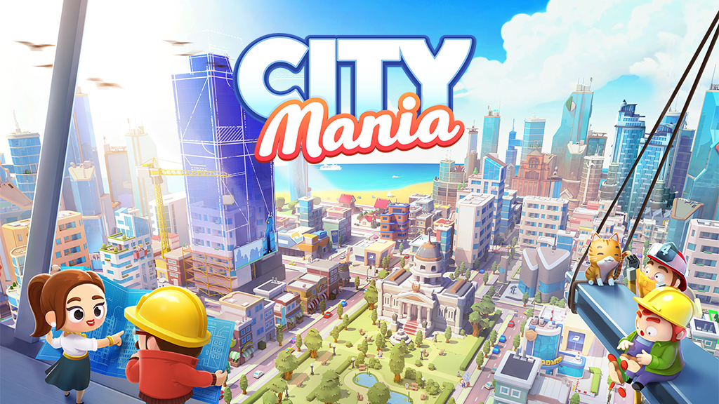 City Mania lets you build the city of your dreams
