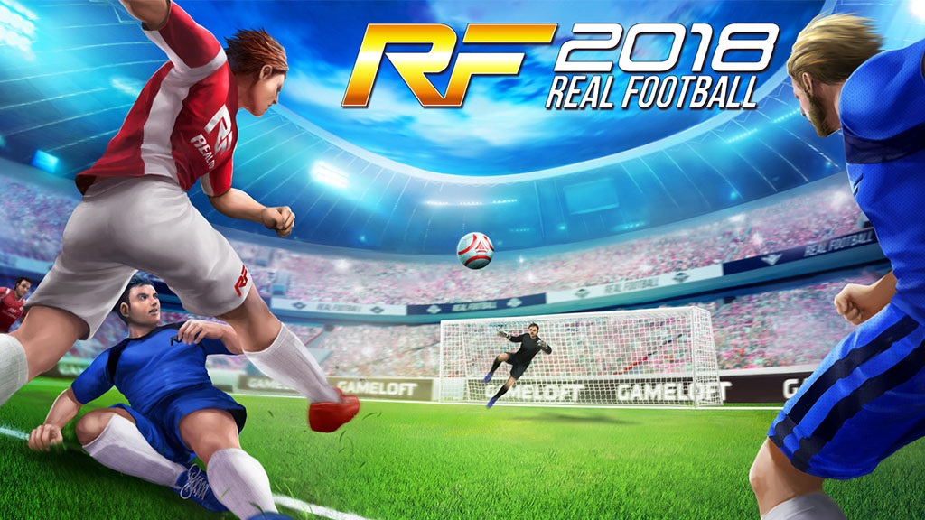 Show off your soccer skills in Real Football 2018 | Gameloft