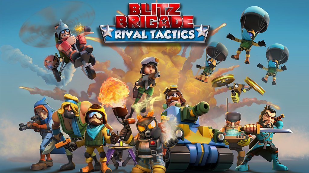 Pre-register for Blitz Brigade: Rival Tactics