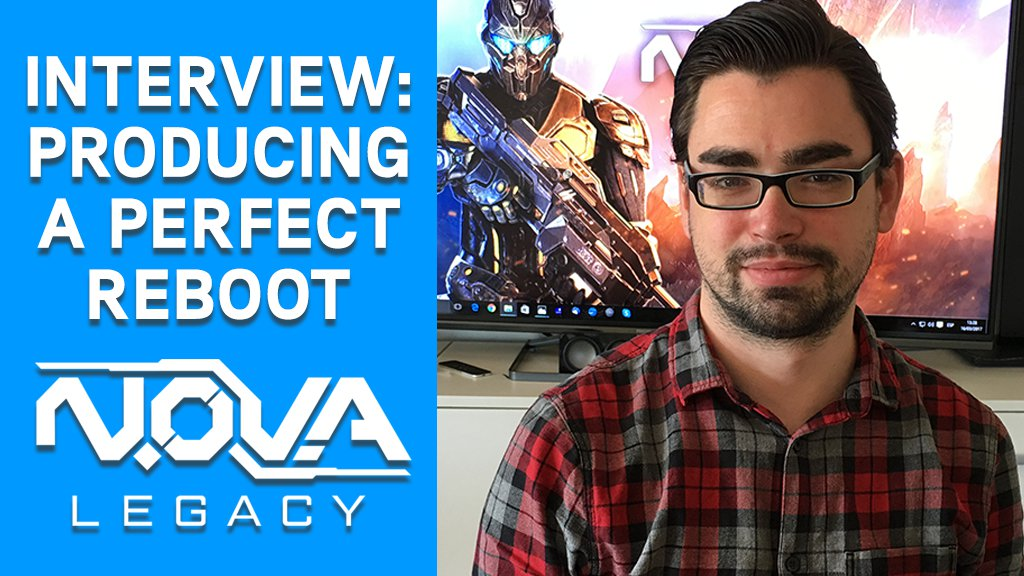 Interview: Producing a perfect N.O.V.A. reboot