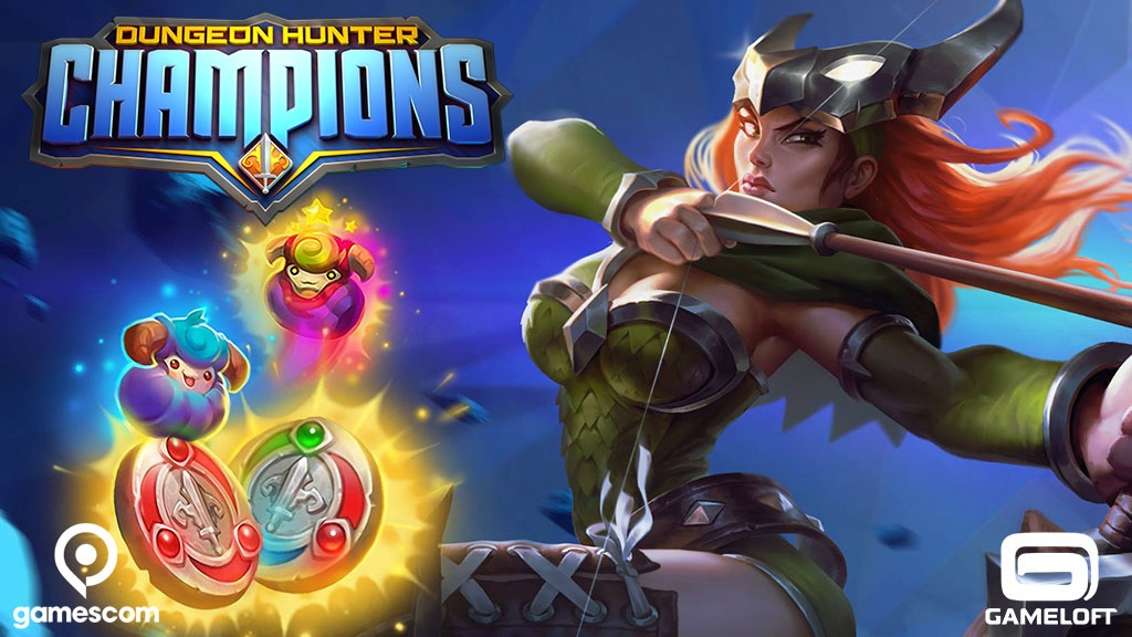 Gameloft central gameloft games news and fun enjoy gamescom with dungeon hunter champions solutioingenieria Image collections