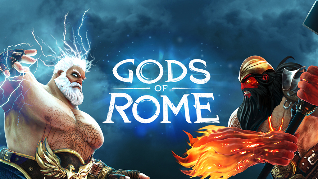 Play Gods of Rome on the big screen with Apple TV