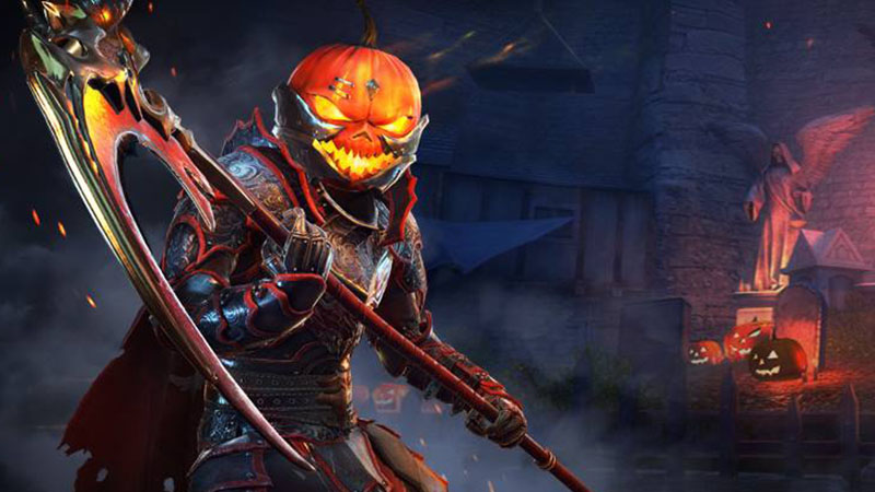 Thats Right Don The Pumpkin Knights Head Gear And Raise Up Scythe To Take Down Any Wandering Souls You Can Also Check Out A Special Halloween Giveaway