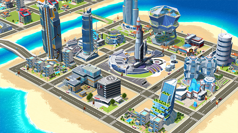 Build your own paradise in Little Big City 2 | Gameloft Central