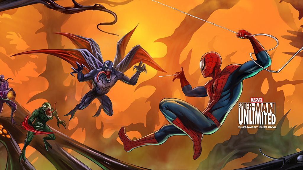 Face the Symbiotes in Spider-Man Unlimited