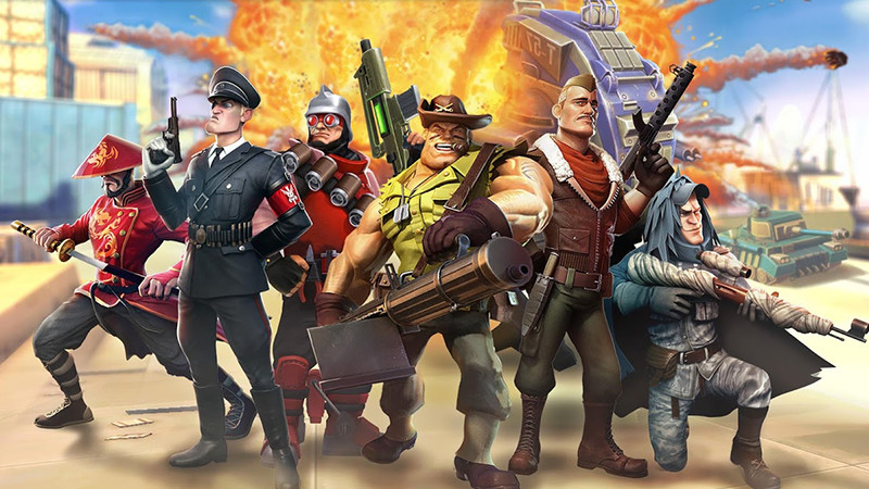 Jump into this light-hearted, fast-paced FPS | Gameloft Central