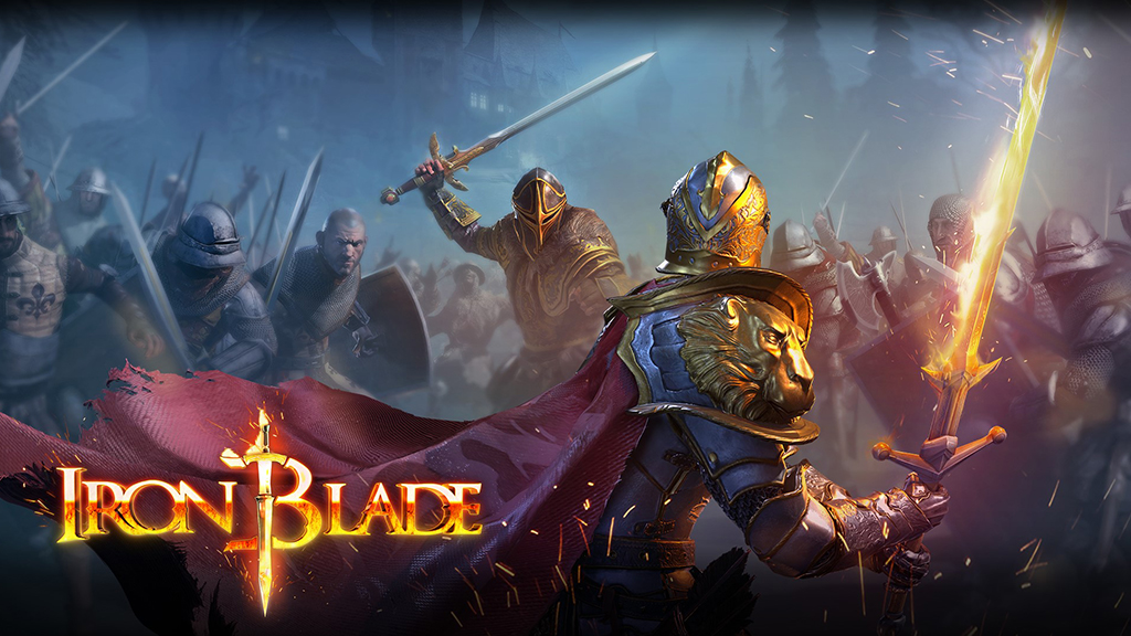 Take up your Iron Blade and fight for the Templar