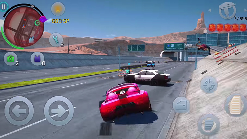 an open world city of sin to explore gameloft central