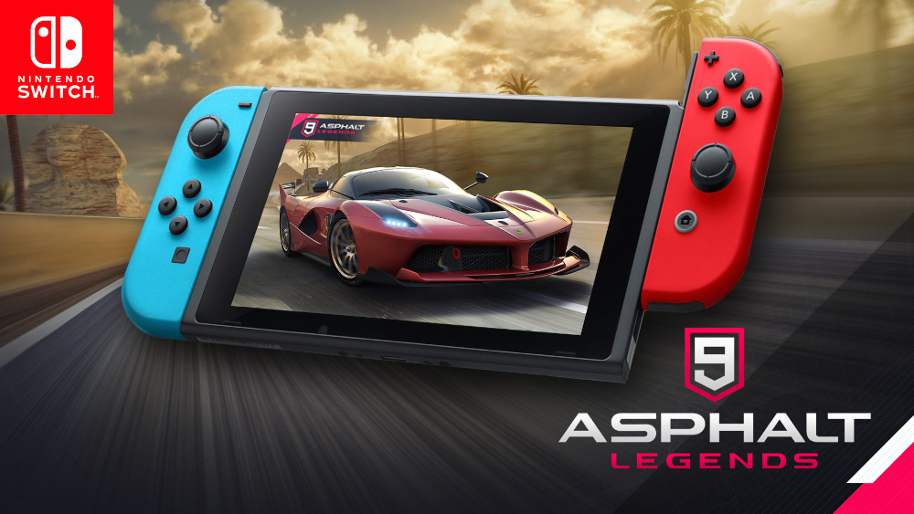 Asphalt 9: Legends sur Nintendo Switch